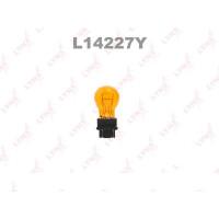 Лампа LYNXauto Amber P27/7 12V W2,5X16Q L14227Y