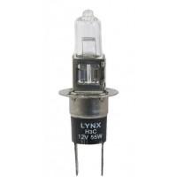 Лампа галогенная LYNX H3C 12V 55W PK22d/5 L15955