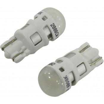 Лампа автомобильная OSRAM W5W 12V 6000K 1W W2.1x9.5d LEDRIVING 2880CW02B