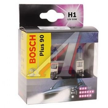 Лампа Bosch H1+90 2 шт 1987301073