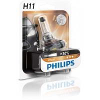 Лампа PHILIPS H11 Vision +30% 12V 55W PGJ19-2 B1 1 шт. 12362PRB1