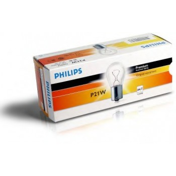 Лампа Philips  P21W  12V  STANDARD 12498CP