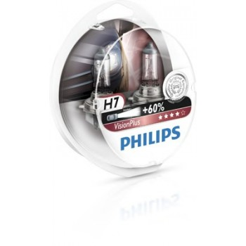 Лампа PHILIPS H7 (55W) PX26d Vision Plus 12V 12972VP S2 (2шт)