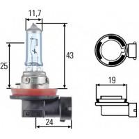 Лампа накаливания HELLA 12V H8 35W  8GH008356121