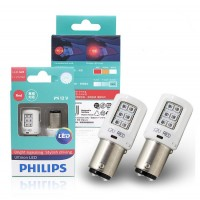 СВЕТОДИОДНАЯ ЛАМПА 12V P21/5W BAY15D RED INTENSE PHILIPS 11499ULRX2