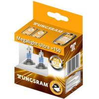 Автолампа Tungsram H4 12V 60/55W Megalight Ultra +150% 93088612