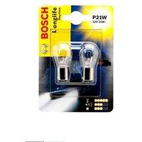 Лампа BOSCH  [2шт] LONGLIFE DAYTIME P21W 12V 21W [блистер] 1987301050