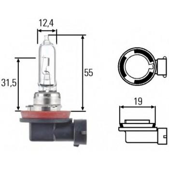 Лампа накаливания HELLA H9 12V 65W 8GH008357001