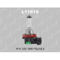 Лампа галогенная LYNXL  H16 12V 19W   L11619
