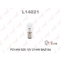 Лампа LYNX P214W S25 12V 214W L14021