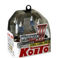Лампа высокотемпературная Koito Whitebeam HB4 12V55W  комплект 2 шт.  P0757W