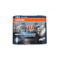 Лампа галогенная HB4/9006(51) 12V Osram NIGHT BREAKER UNLIMITED +110% 9006NBUBOX