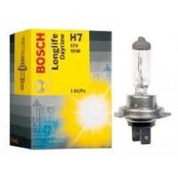 Лампа галогенная BOSCH H7  LONGLIFE DAYTIME  12V 55W 1987302078