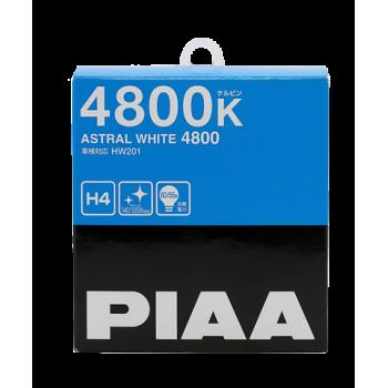 Лампа PIAA BULB ASTRAL WHITE H4 (HW201) 4800K 60/55W HW201-H4