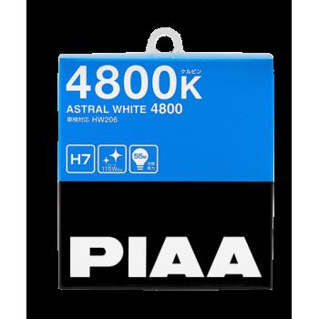Лампа PIAA BULB ASTRAL WHITE H7 (HW206) 4800K 60/55W HW206-H7
