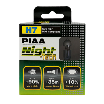 Лампа PIAA BULB NIGHT TECH H7 (HE-823) 3600K HE-823-H7