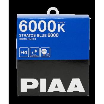 Лампа PIAA BULB STRATOS BLUE H4 (HZ201) 6000K HZ201-H4
