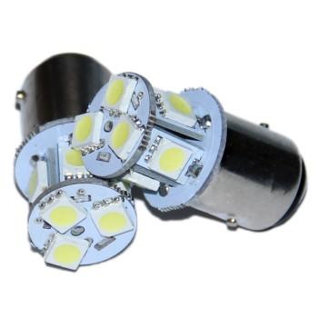Автолампа светодиодная 1157 - P21/5W - S25 - BAY15d - 8 SMD 5050