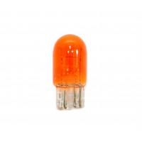 Лампа автомобильная PROSVET 12V W21/5W Т20/5 W3x16q Б/Ц AMBER (2-х конт.) оранж.