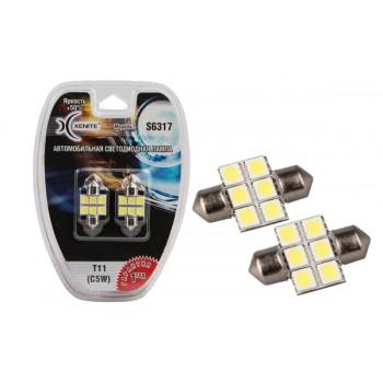 Светодиодная лампа Xenite  (C5W)  S 6317 (Яркость +50%)