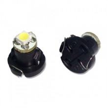 Автолампа светодиодная  Т4.2-1SMD W/B/R/G (3528/5050)