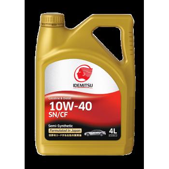 Масло моторное IDEMITSU Gasoline & Diesel Semi-Synthetic 10W-40 4 л. 30015045-746