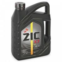 Моторное масло ZIC X7 LS 10W-40 4л синтетическое  162620