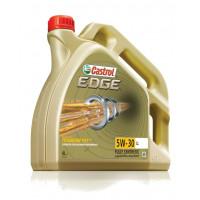Моторное масло Castrol EDGE FST 5W30 LL, 4 л, синтетическое 15669A