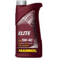 Моторное масло MANNOL ELITE SAE 5w-40 (1л.) 1005