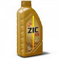 Моторное масло ZIC X9 5W-40 1 л синтетическое 132902