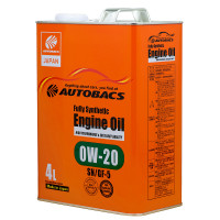 Масло моторное AUTOBACS Fully Synthetic 0W-20 SN/GF-5   4л