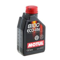 Моторное масло MOTUL 8100 ECO-LITE 5W-30  1л.  108212