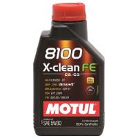 Моторное масло MOTUL 8100 X-clean FE 5W-30 1 л   104775