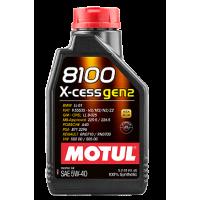 Моторное масло MOTUL 8100 X-cess GEN2 5W40 1 л 109774