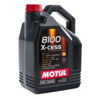 Моторное масло MOTUL 8100 X-cess GEN2 5W40   109775