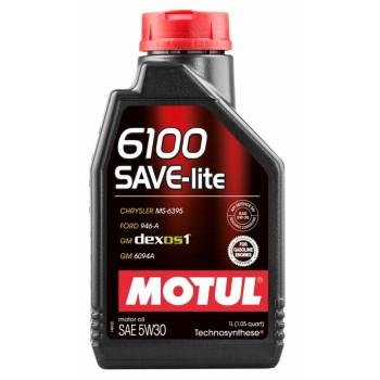 Моторное масло MOTUL 6100 SAVE-LITE 5W-30 1 л  107956