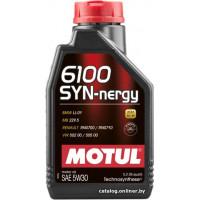 Моторное масло Motul 6100 Syn-Nergy 5W-30 1 л. 107970