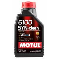 Моторное масло MOTUL 6100 SYN-CLEAN 5W-40 1 л   107941