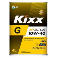 Масло моторное KIXX G 10W-40 SN PLUS 4л полусинтетическое L210944TR1