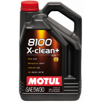 Моторное масло MOTUL 8100 X-clean+ 5W-30 5 л 106377