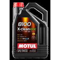 Моторное масло Motul 8100 X-clean EFE 5W30 5л 109471