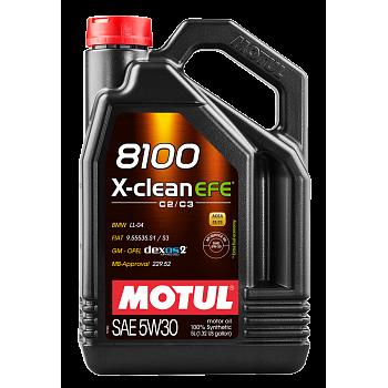 Моторное масло Motul 8100 X-clean EFE 5W30 109471