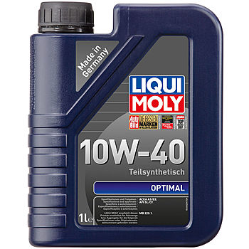 Моторное масло LIQUI MOLY Optimal 10W-40 1 л. 3929