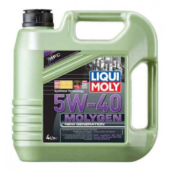Моторное масло LIQUI MOLY Molygen NEW Generation 5W-40 4л. 9054
