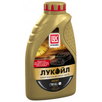 Моторное масло ЛУКОЙЛ Люкс 5W-40 синтетическое 1 л. 207464