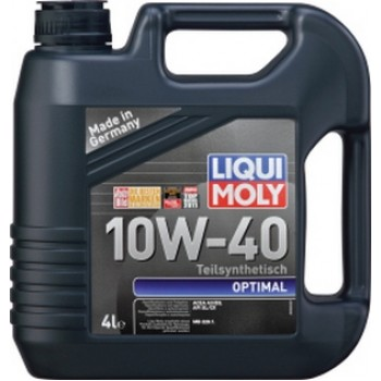 Масло моторное LIQUI MOLY OPTIMAL 10W-40 4л  3930