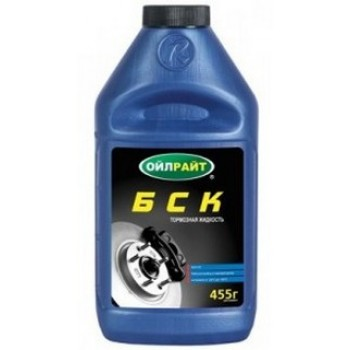 Жидкость тормозная БСК OILRIGHT 455г.  2649