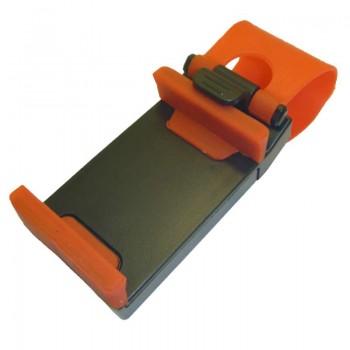 Держатель для телефона/смартфона на руль C-120 Max 70mm Черный