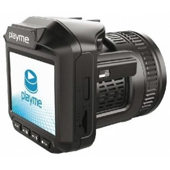 Видеорегистратор + радар-детектор PLAYME P450 TETRA