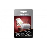 Карта памяти Samsung microSDHC 32Gb EVO Plus Class 10